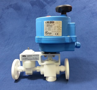 PTFE Chemical Injection Control Valve