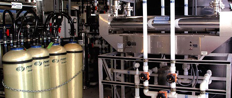 Anion, Cation and Carbon DI Tanks